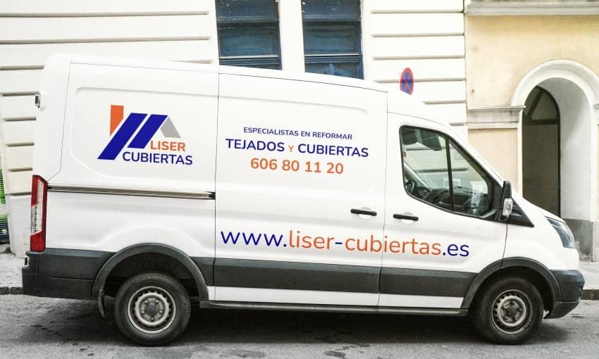 Consrucción de Tejados Cubierta con Estructura Aligerada y Panel Sándwich Madrid