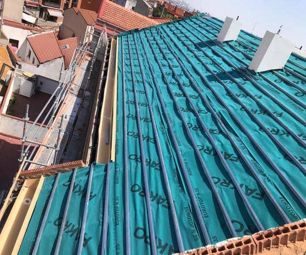 Empresa de Construcción de Tejados y Cubiertas Madrid