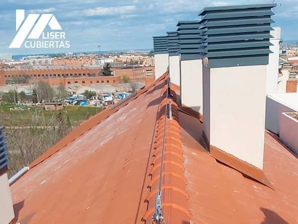 Construcción Tejados Cubiertas en Leganés