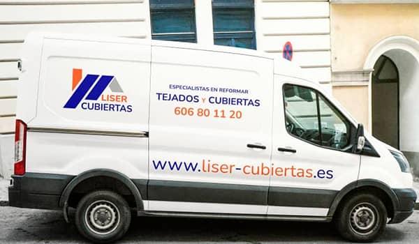 Empresa Tejados Madrid LISER